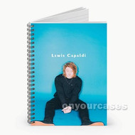 Lewis Capaldi Custom Personalized Spiral Notebook Cover