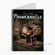 Mary Shelley s Frankenhole Custom Personalized Spiral Notebook Cover