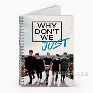 Why Don t We Just Custom Personalized Spiral Notebook Cover