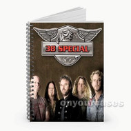 38 Special Custom Personalized Spiral Notebook Cover