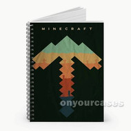 42 Minecraft Custom Personalized Spiral Notebook Cover