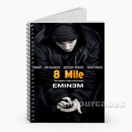 8 Mile Eminem Custom Personalized Spiral Notebook Cover