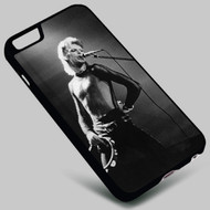 David Bowie (2)  on your case iphone 4 4s 5 5s 5c 6 6plus 7 Samsung Galaxy s3 s4 s5 s6 s7 HTC Case