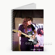 Courtney Barnett Custom Personalized Spiral Notebook Cover