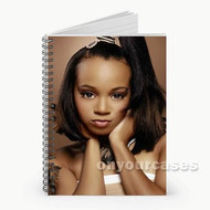 Lisa Lopes Custom Personalized Spiral Notebook Cover