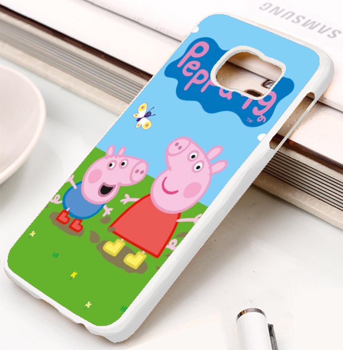 Peppa Pig Samsung Galaxy S3 S4 S5 S6 S7 Case Cases