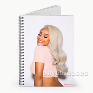 Saweetie 3 Custom Personalized Spiral Notebook Cover