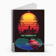 The Count Curren y Feat Wiz Khalifa Custom Personalized Spiral Notebook Cover