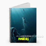 The Meg Movie Custom Personalized Spiral Notebook Cover