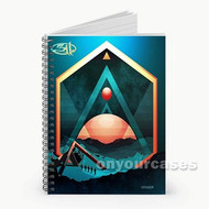 311 Voyager Custom Personalized Spiral Notebook Cover