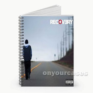 Eminem Seduction Custom Personalized Spiral Notebook Cover