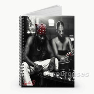 Fetty Wap Questions Custom Personalized Spiral Notebook Cover
