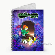 Infinity Train Custom Personalized Spiral Notebook Cover