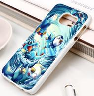 pokemon water starters Samsung Galaxy S3 S4 S5 S6 S7 case / cases