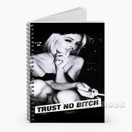 2 Pac Shakur Trust No Bitch Custom Personalized Spiral Notebook Cover