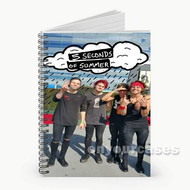 5 Seconds of Summer 2 Custom Personalized Spiral Notebook Cover
