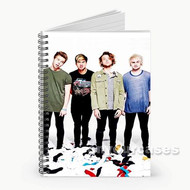 5 Seconds of Summer 3 Custom Personalized Spiral Notebook Cover