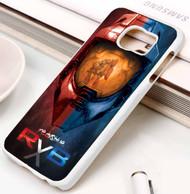 Red vs Blue Helmet halo 4 Samsung Galaxy S3 S4 S5 S6 S7 case / cases