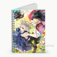 Howl s Moving Castle Halcyon Custom Personalized Spiral Notebook Cover