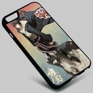 Akatsuki Sasuke Uchiha Naruto  on your case iphone 4 4s 5 5s 5c 6 6plus 7 Samsung Galaxy s3 s4 s5 s6 s7 HTC Case