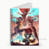 The Sirens of Borderlands Custom Personalized Spiral Notebook Cover