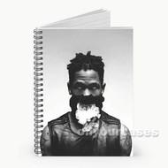 Travi Scott Custom Personalized Spiral Notebook Cover