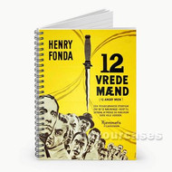 12 Angry Men Yellow Custom Personalized Spiral Notebook Cover