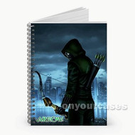 Arrow Night Custom Personalized Spiral Notebook Cover