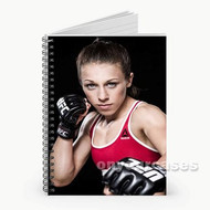 Joanna Jedrzejczyk UFC Custom Personalized Spiral Notebook Cover