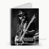 Lemmy Killmister Custom Personalized Spiral Notebook Cover