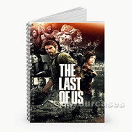 The Last of Us Games Custom Personalized Spiral Notebook Cover