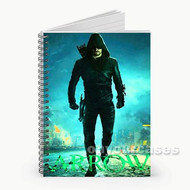 Arrow Custom Personalized Spiral Notebook Cover