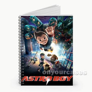 Astroboy Movie Custom Personalized Spiral Notebook Cover