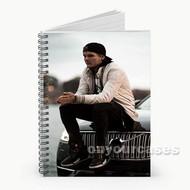 DJ Avicii Custom Personalized Spiral Notebook Cover