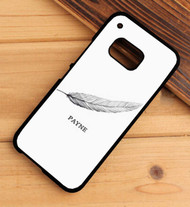 liam payne feather tattoo one direction HTC One X M7 M8 M9 Case