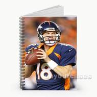 Peyton Manning Denver Broncos Baseball Custom Personalized Spiral Notebook Cover