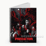 Predator Dark Ages Characters Custom Personalized Spiral Notebook Cover