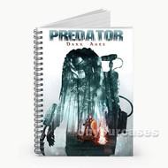 Predator Dark Ages Custom Personalized Spiral Notebook Cover