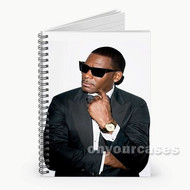 R Kelly Glassess Custom Personalized Spiral Notebook Cover