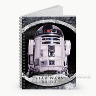 R2 D2 Droid Star Wars Custom Personalized Spiral Notebook Cover