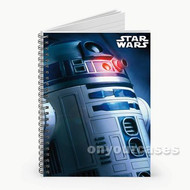R2 D2 Star Wars Artoo Custom Personalized Spiral Notebook Cover