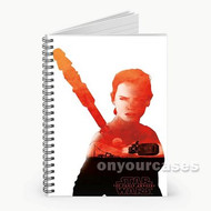 Rey Star Wars Custom Personalized Spiral Notebook Cover
