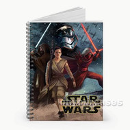 Rey Star Wars The Force Awakens Custom Personalized Spiral Notebook Cover