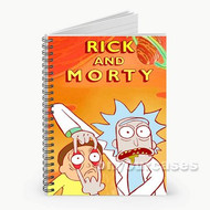 Rick and Morty Season 2 Custom Personalized Spiral Notebook Cover