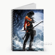 Rise of the Tomb Raider Archer Custom Personalized Spiral Notebook Cover