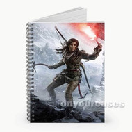 Rise of the Tomb Raider Custom Personalized Spiral Notebook Cover