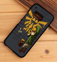 Link Banksy Legend of Zelda Street HTC One X M7 M8 M9 Case