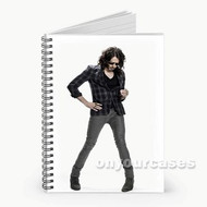 Russell Brand Custom Personalized Spiral Notebook Cover