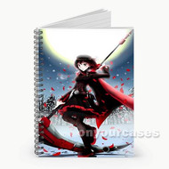 Rwby Ruby Moon Custom Personalized Spiral Notebook Cover