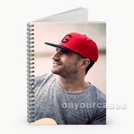 Sam Hunt Hat Custom Personalized Spiral Notebook Cover